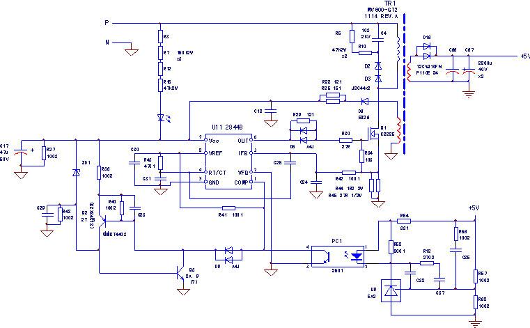 直流电源电路图